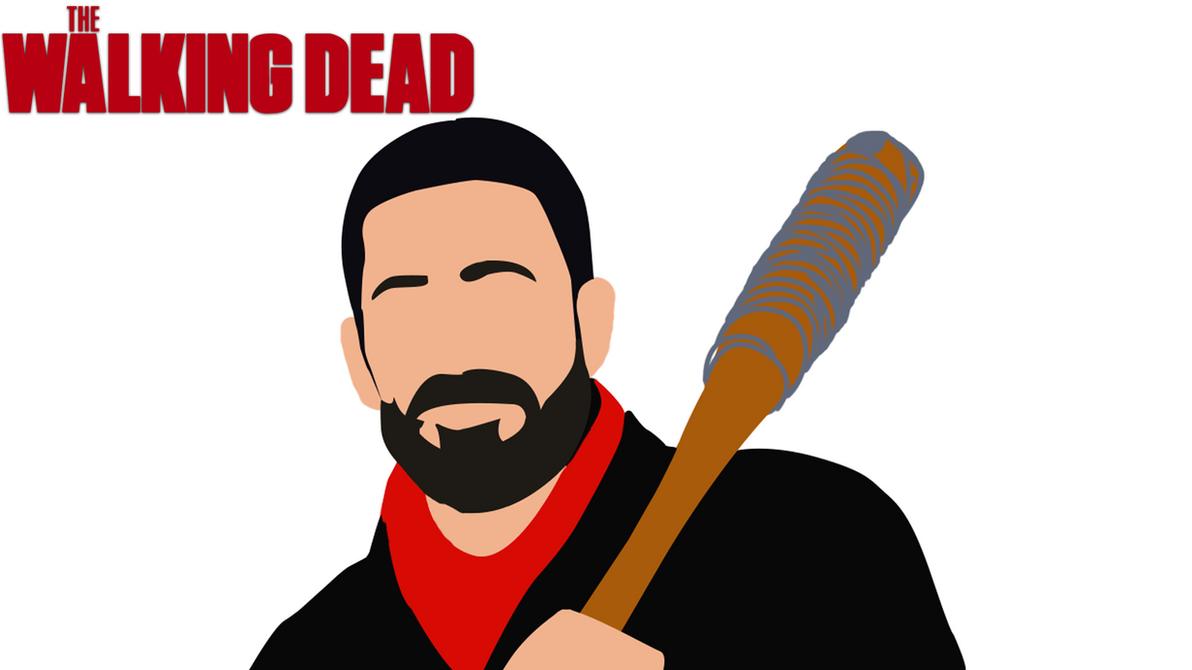Wallpaper Negan The Walking Dead By Lavier10