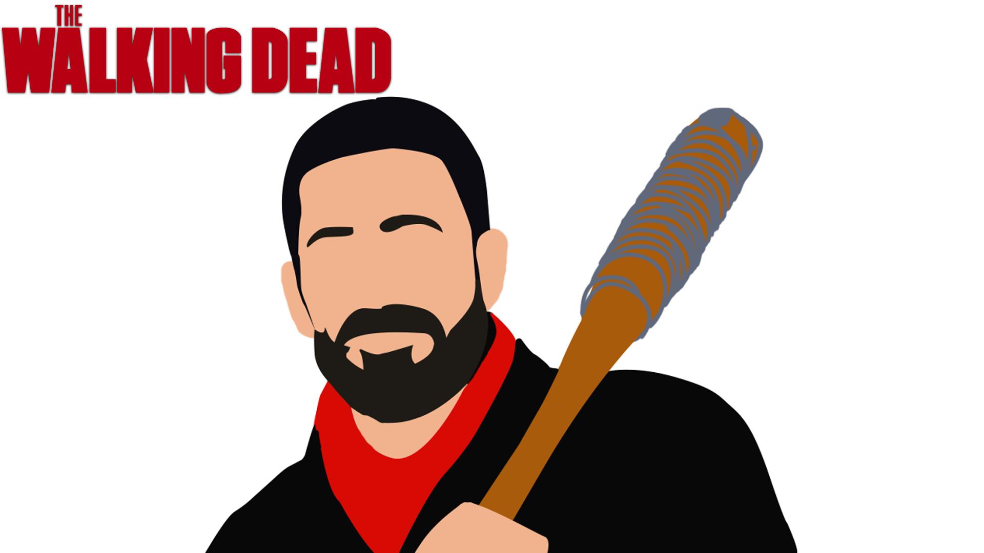 Wallpaper Negan The Walking Dead By Lavier10 On Deviantart