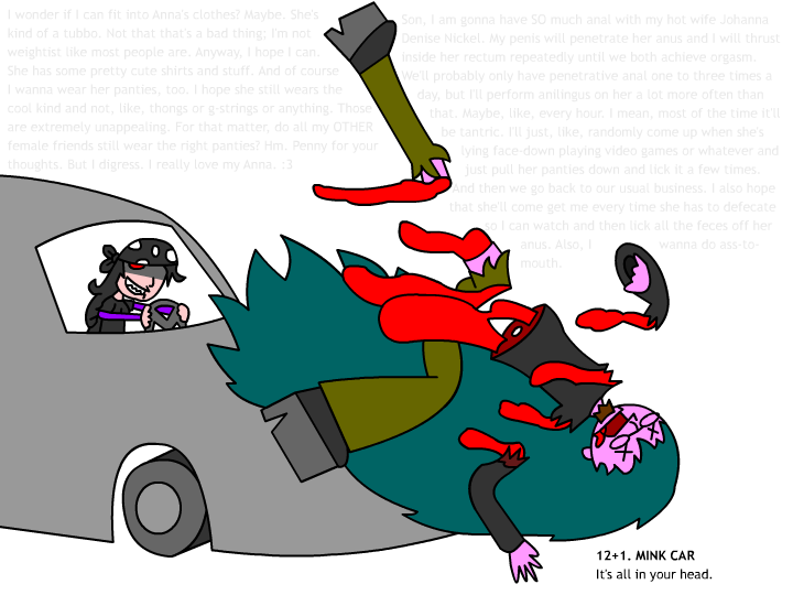 Happy anniversary, Mink Car by NickBate