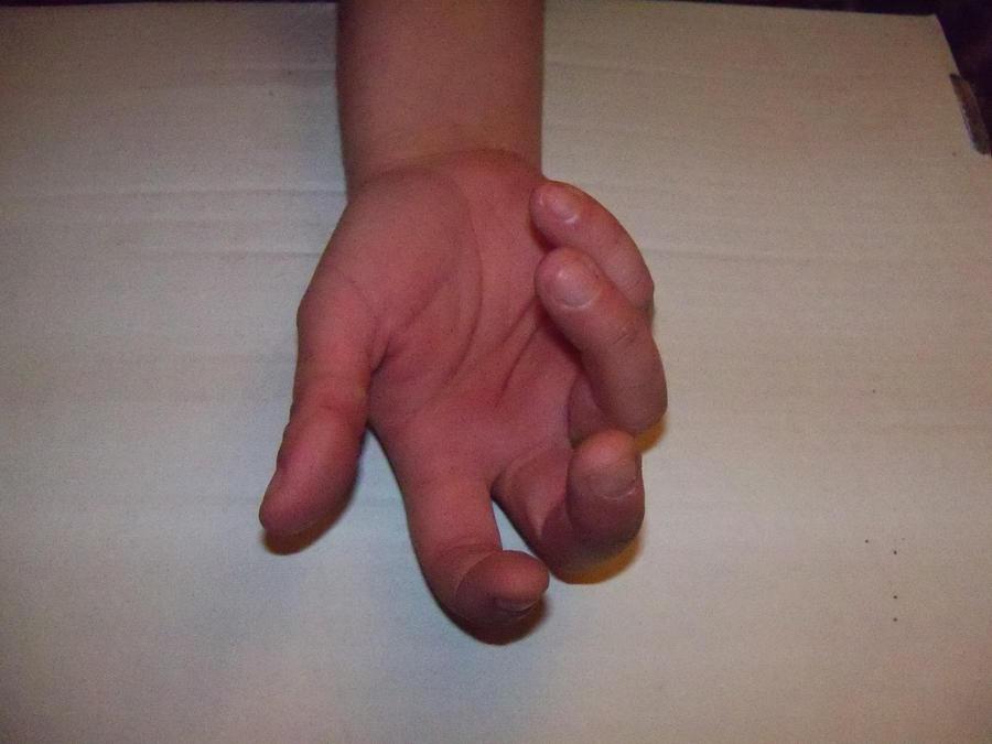 Hand Stock 5 by ravenarcana