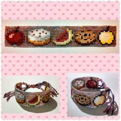 Minecraft Food Bracelet