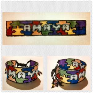 Amaya's Autism Awareness Bracelet