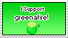 I Support greenafire by IceXDragon