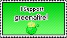 I Support greenafire by IceXDragon