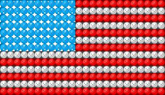 Emote Flag: America by IceXDragon