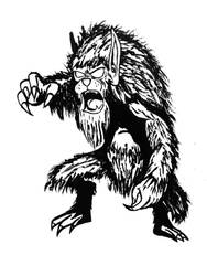 Monstermarch 25 - Werwolf by bembulak