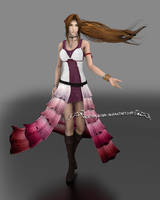 Aerith - Design Concept by NightysWolf