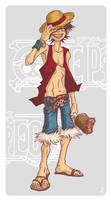 Luffy by Jinxy42