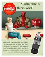 Cherry Coke ad for Laseranders by Jinxy42