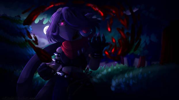 Villian Sash Lilac (My version) [fan-art]