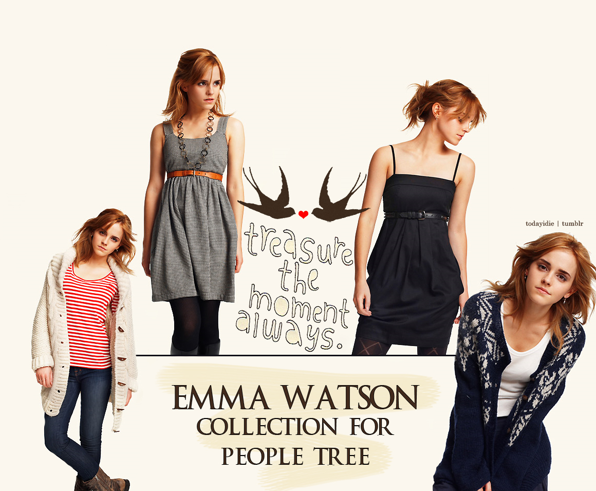 Emma Watson for people tree by