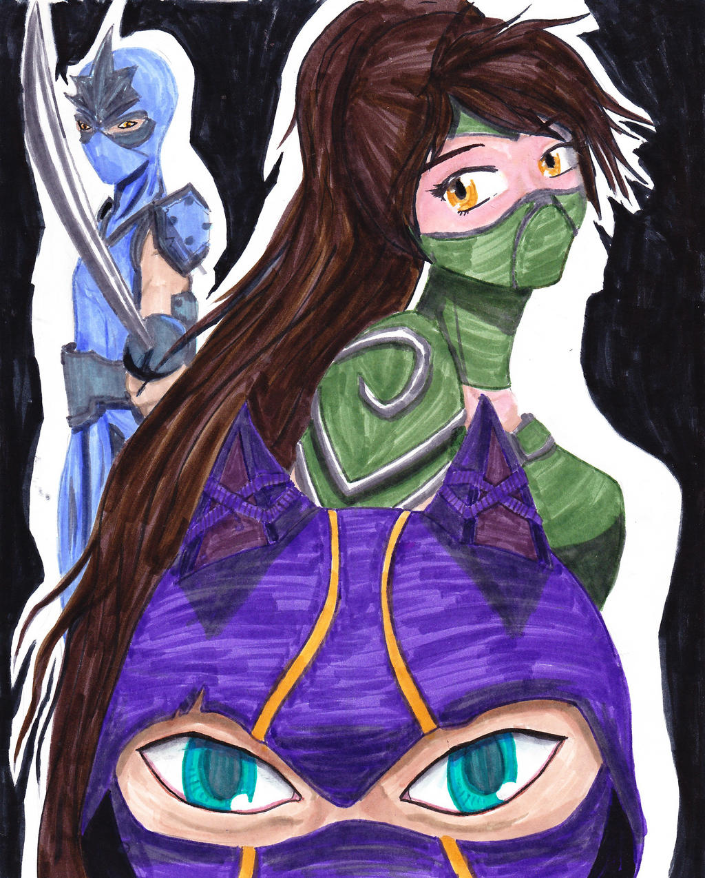 LoL Shen, Akali, and Kennen by ForsytheFrontier on DeviantArt