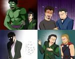 Marvel Art Dump