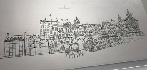 Old Town - Edinburgh (Work In Progress)