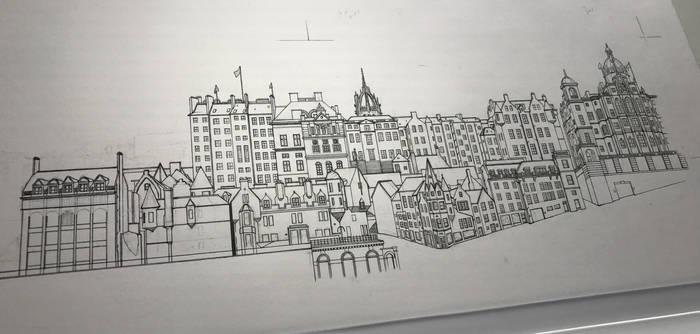 Old Town - Edinburgh (Work In Progress)