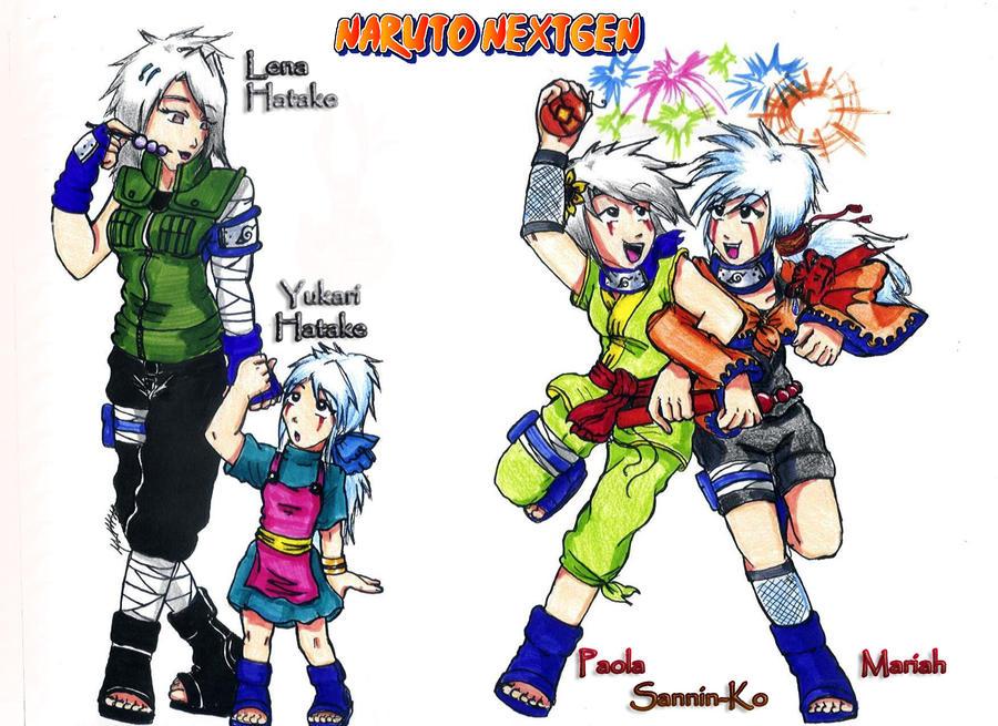 Naruto NextGen-Sannin Children by KarolaKH on DeviantArt