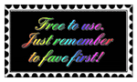 00 Stamp - Fav 4 free use 01 by JumpBiest