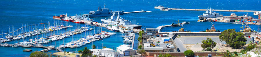 Mini Simons Town Harbour by Ravynlight24