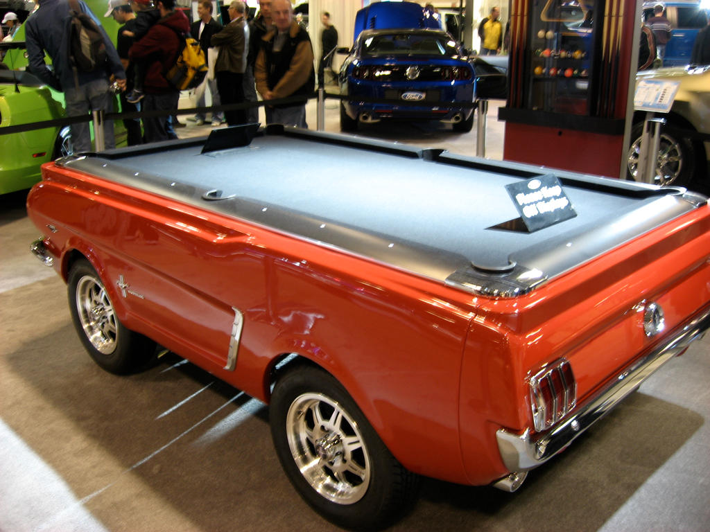 Car Show Mustang Pool Table By BloodAsp On DeviantArt - Mustang pool table