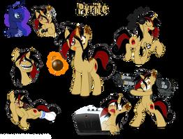 OC Pony: Pyrite by Blood-Asp0123