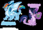 Dragon Ponies Set 1
