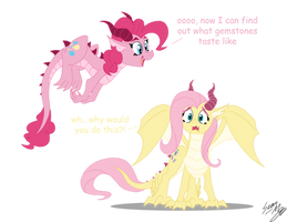 Dragon Ponies Set 2 by Blood-Asp0123