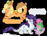Dragon Ponies Set 3