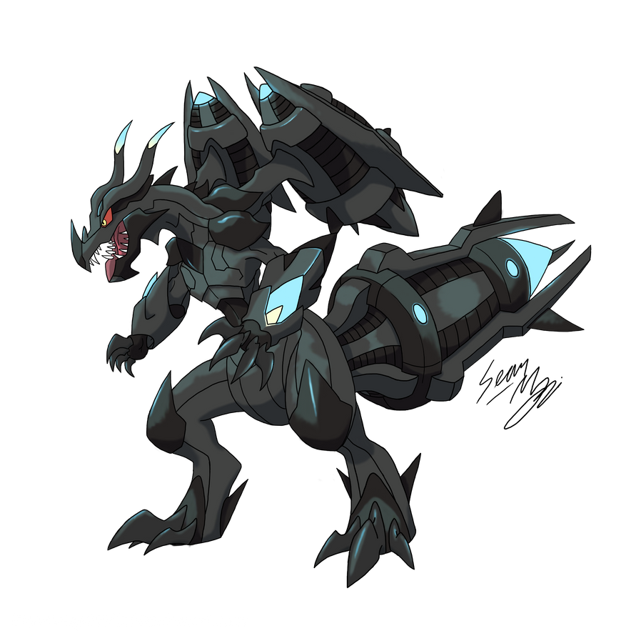 Mega Zekrom by Blood-Asp0123 on DeviantArt