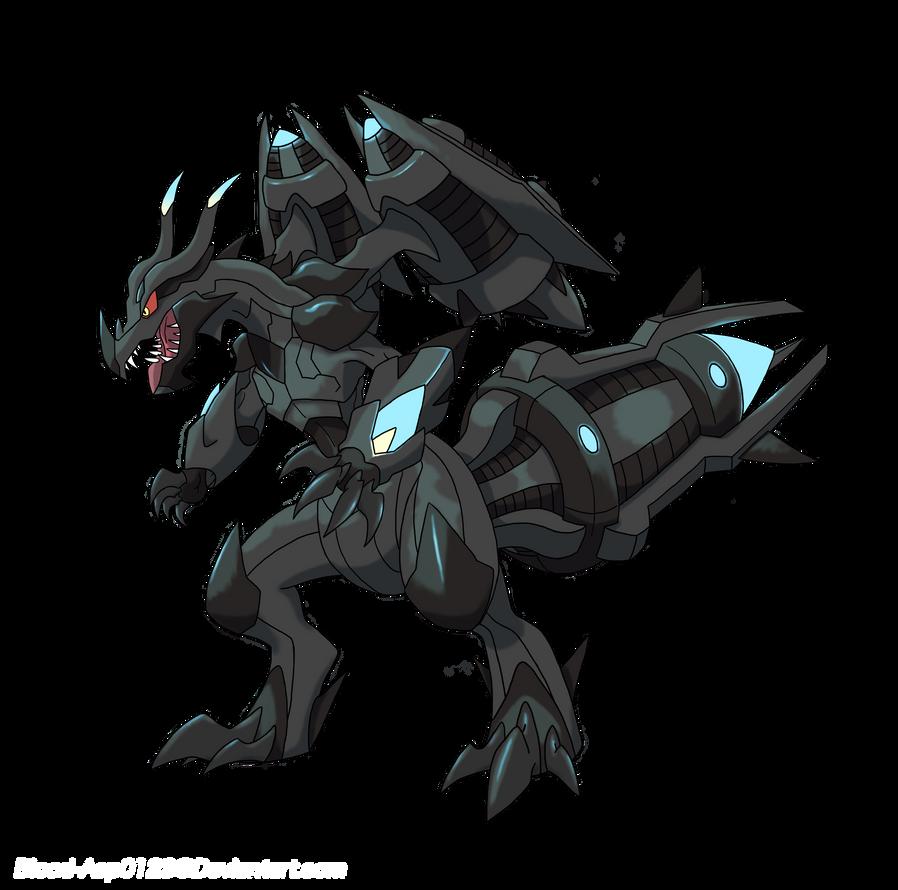 Mega Zekrom By Blood Asp0123 On DeviantArt