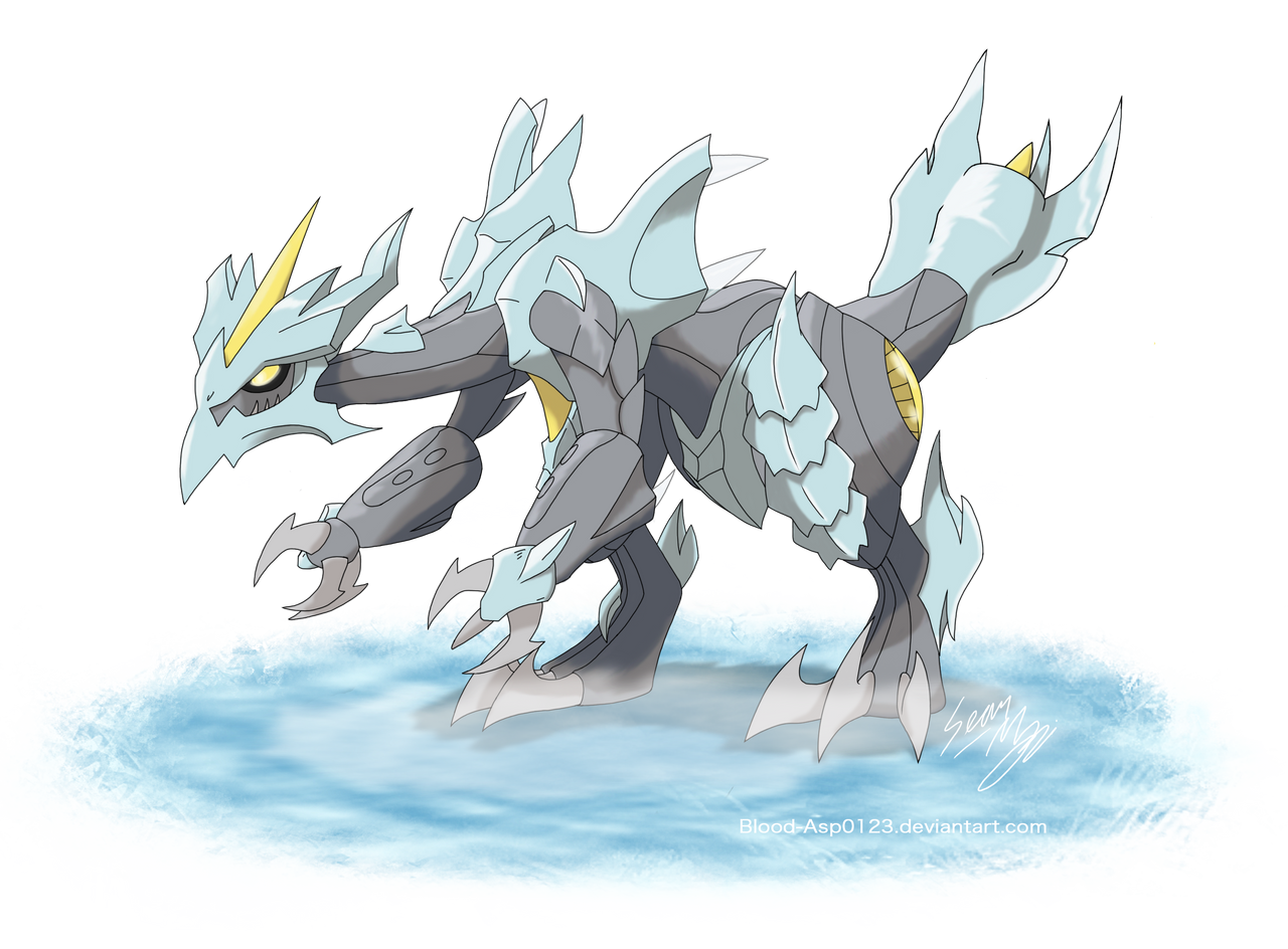 Mega Kyurem by Blood-Asp0123 on DeviantArt