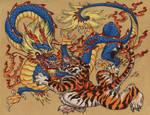 Chinese Tiger Versus Dragon