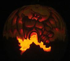 Halloween Chernabog by Heatherbeast