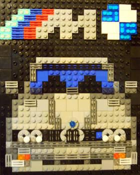 BMW M3 E30 LEGO Mosaic