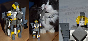 Mini Lego Fusillade -- Tranformers OC
