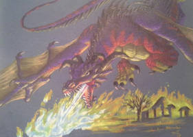 Dragon for MFK Art Trade