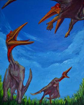 Quetzalcoatlus Trio
