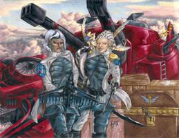 Air Pirates by Heatherbeast