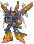 Magma, Decepticon, Colored