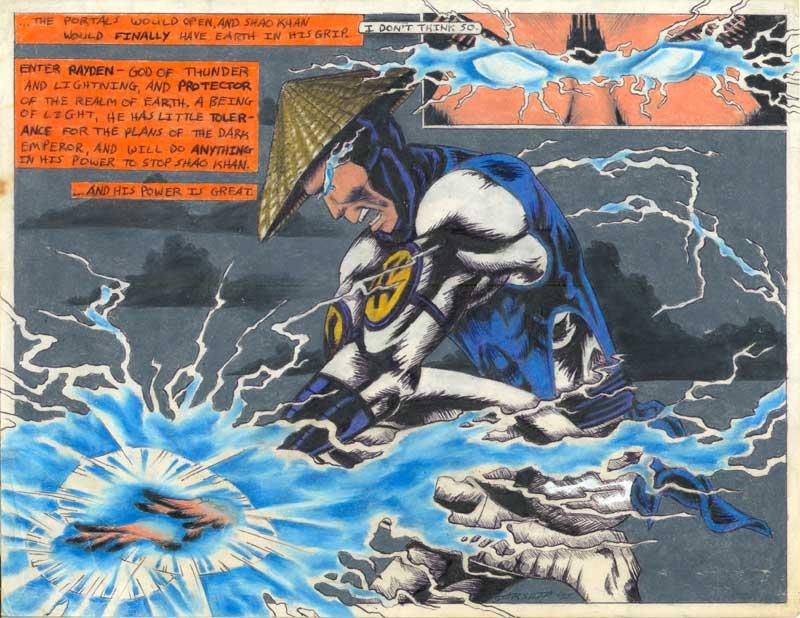 Raiden -- Mortal Kombat by Heatherbeast