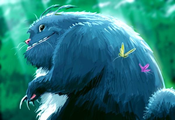 Totoro by pungang