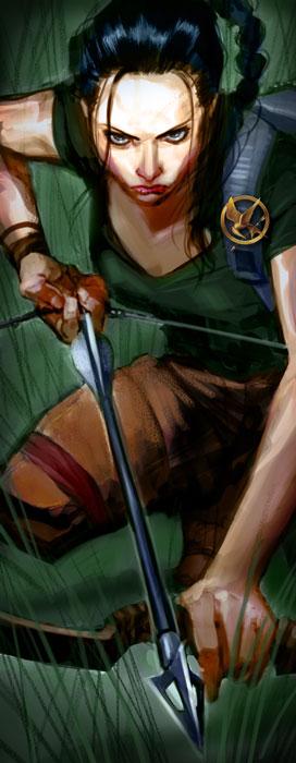 Katniss Everdeen by pungangKatniss Everdeen Fan Art