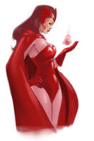 Scarlet Witch by pungang