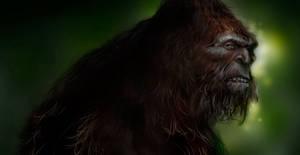 Bigfoot by pungang