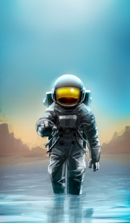 The Impossible Astronaut by pungang on DeviantArt