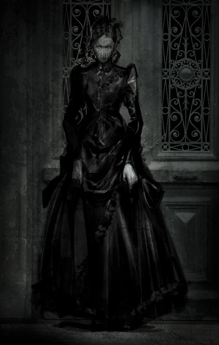 Dark Lady by pungang