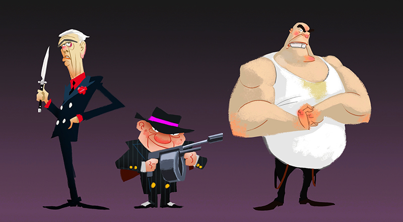 Mobsters by pungang
