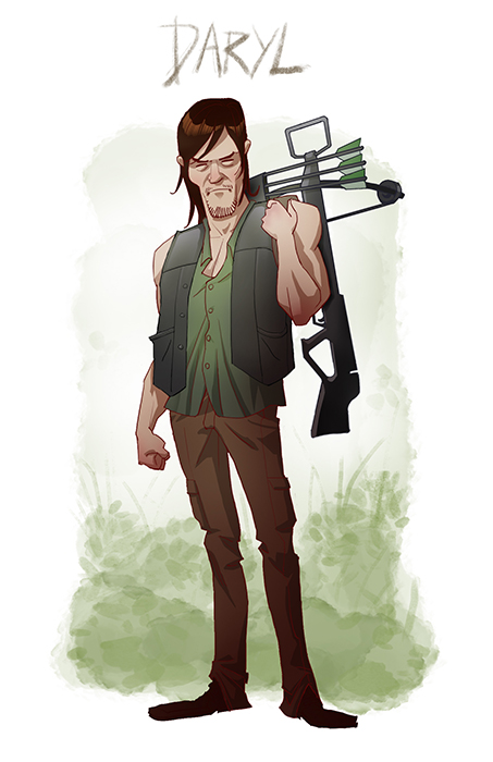 Daryl Dixon By Pungang On Deviantart