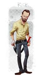 Rick Grimes by pungang