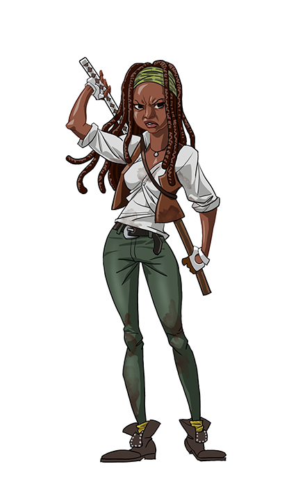 Michonne by pungang