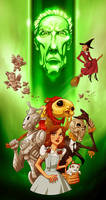 Doctor Who and Wizard of OZ mashup